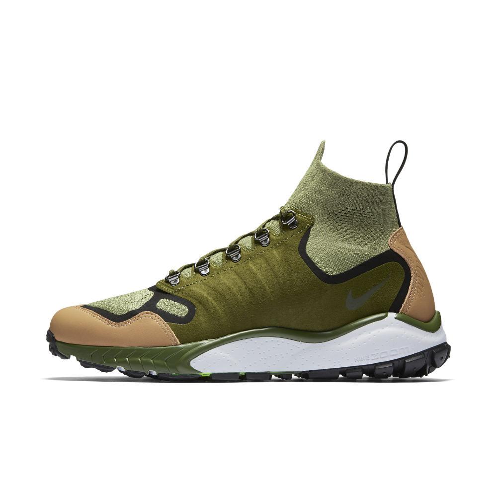 4d64cde8b993 Nike Air Zoom Talaria Mid Flyknit Premium Men s Shoe Size 6.5 (Green) -  Clearance Sale