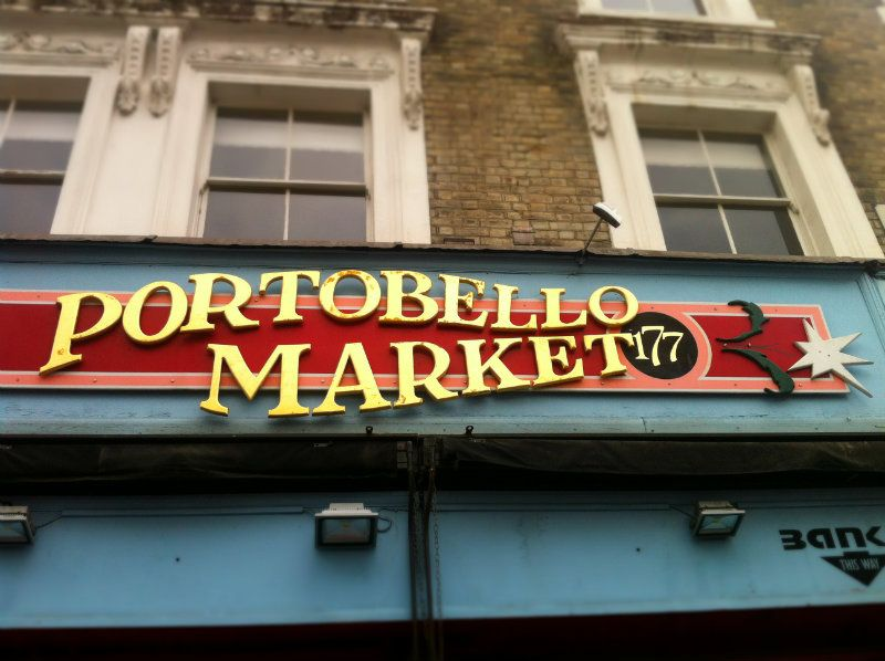 Love for London:Portobello Road Market