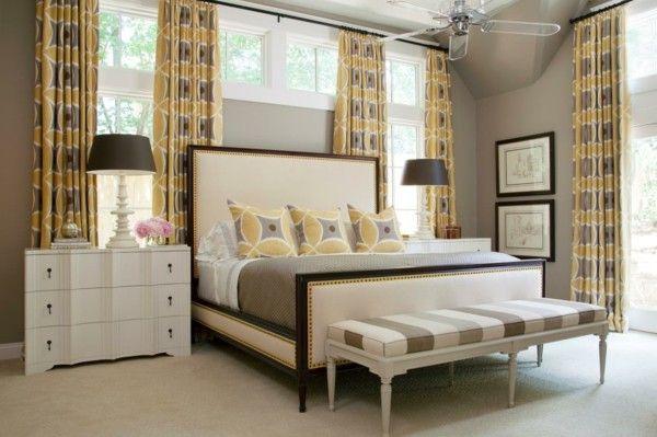 Fensterverdunkelung im Schlafzimmer für Ihren ganz privaten Schlafort - gardinen fürs schlafzimmer