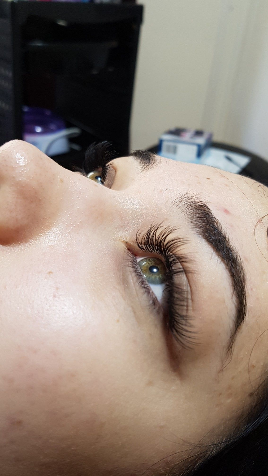 Individual Eyelash Extensions Done By Brisbane Lash Brow Artistry