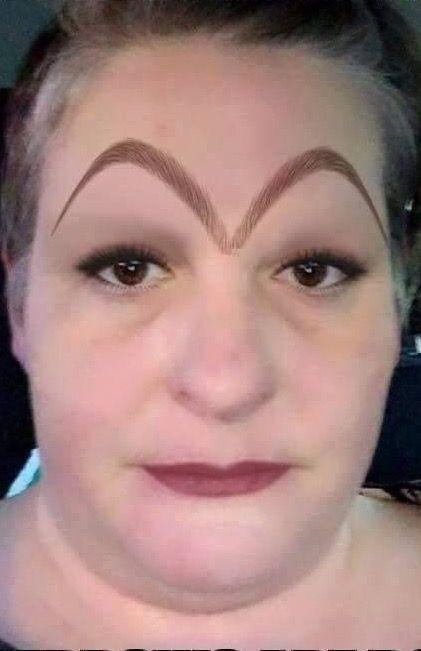 Walmart Eyebrows : walmart, eyebrows, McDonald's, Eyebrow, Arches., Loving, Funny, Pictures, Walmart, Crazy, Eyebrows,, Makeup, Fails
