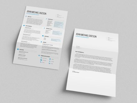 Free Resume + Cover Letter Projects Pinterest Resume cover - free resume and cover letter template