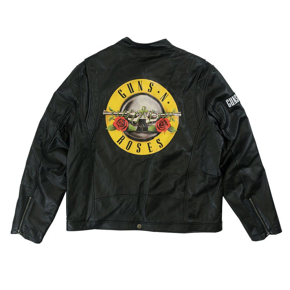 Leather jacket size 18 - Gnf Nr Men S Leather Jacket Guns N Roses Official Store