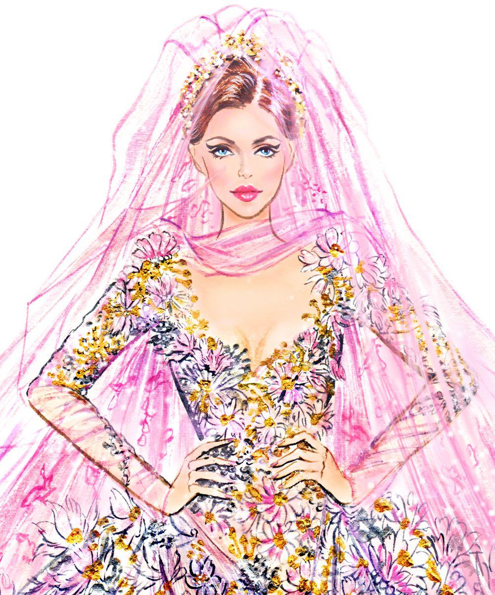 Sunny Gu: Couture: Elie Saab Bride   Moda   Pinterest   Figurines de ...