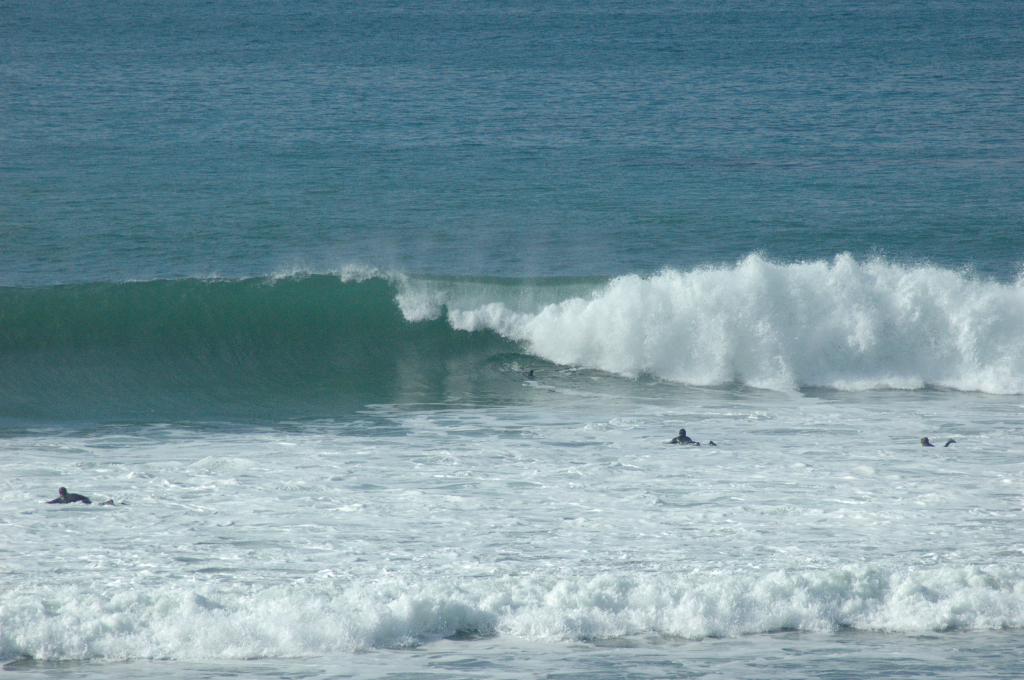 Surf At Las Gaviotas Rosarito Beach Rosarito Baja California