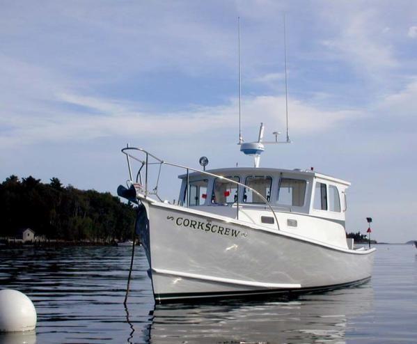 Lobster boat b zone downeast boats pinterest for Downeast fishing gear