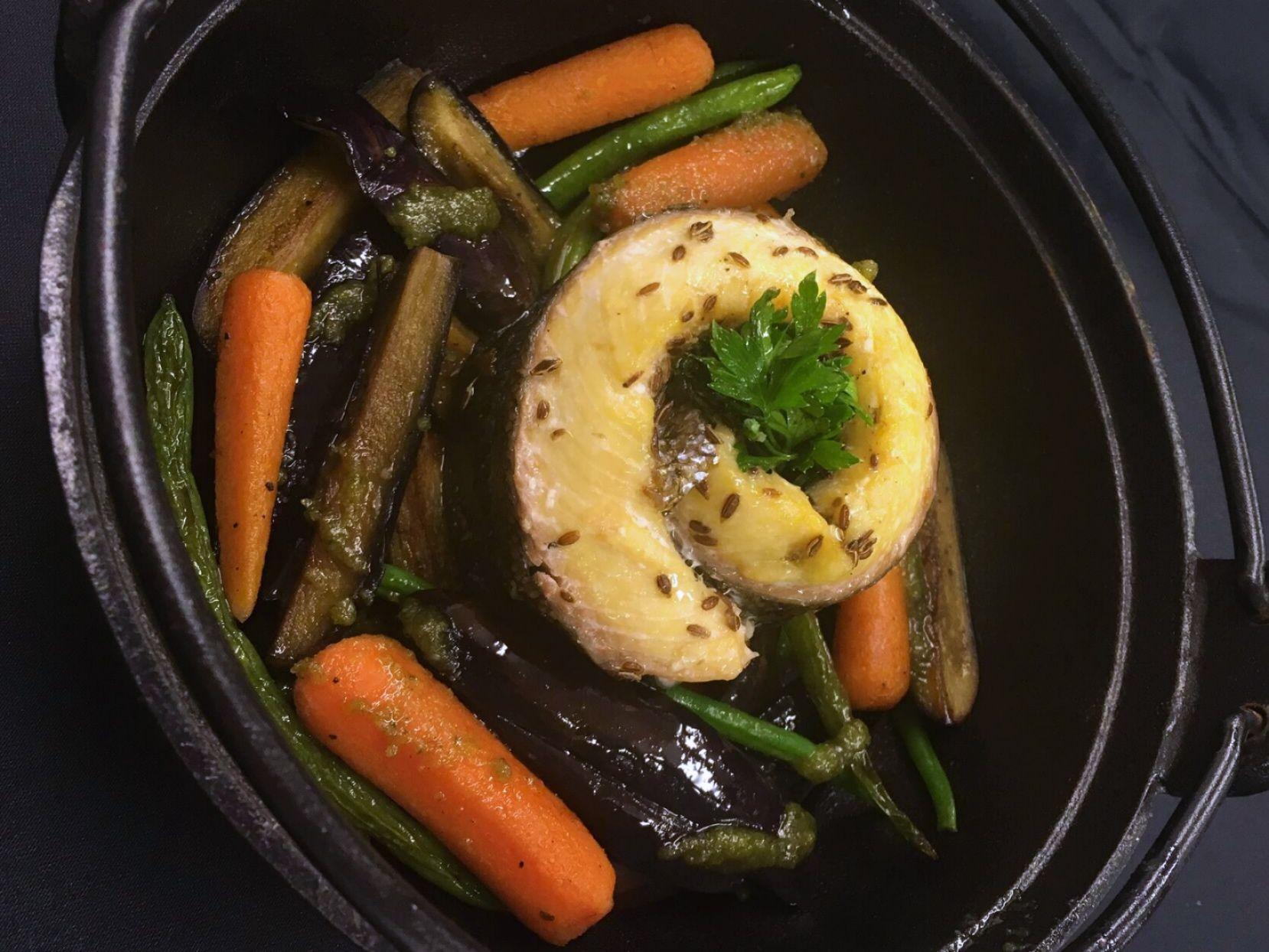 Confira a receita completa de Filé de Linguado enrolado com Legumes