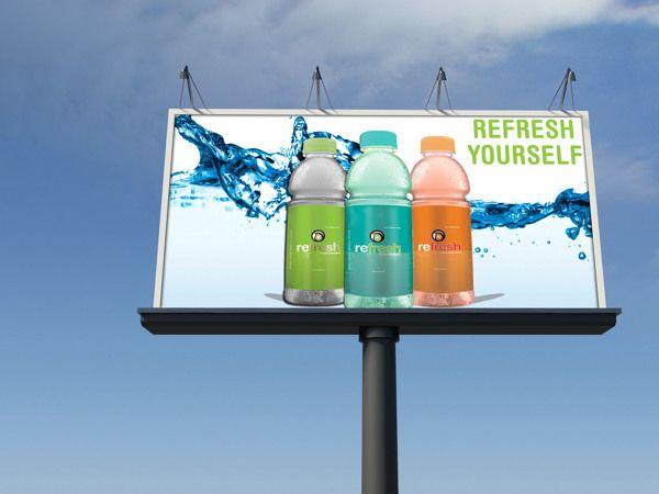 Refresh Water on Behance