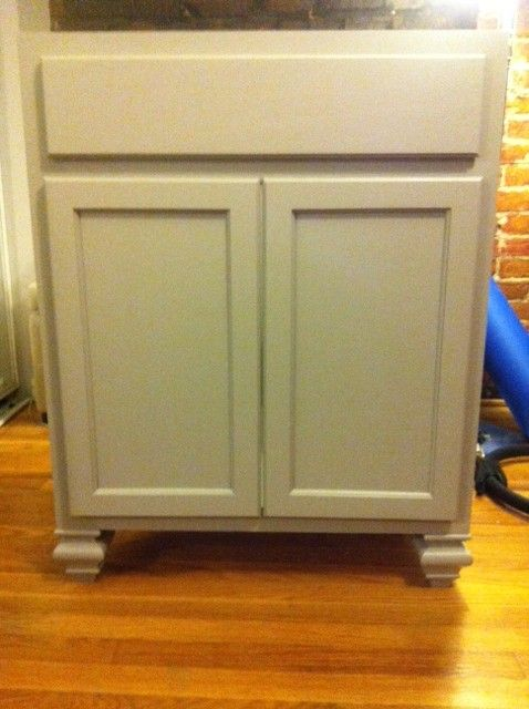 Used Kitchen Cabinet For Bath Vanity