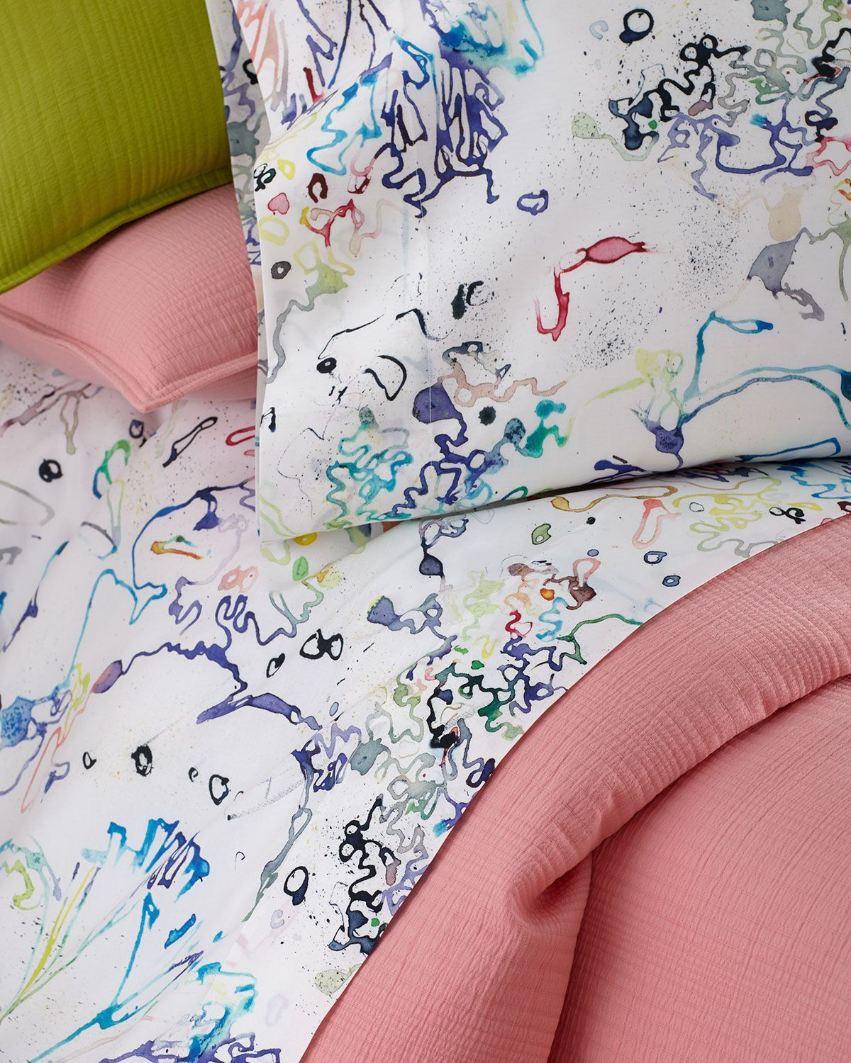 Graffiti Bettwäsche Full Graffiti Sheet Set Multi Colors Bedding Bed Sheets