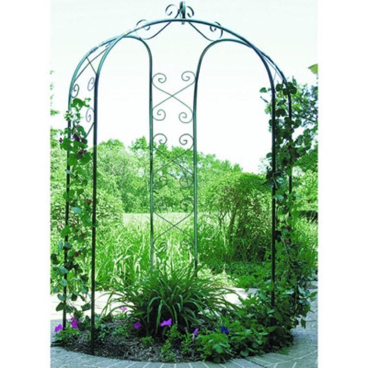 Simple Wedding Arch Garden Decor Decorations Gazebo Rustic Outdoor Metal Arbor