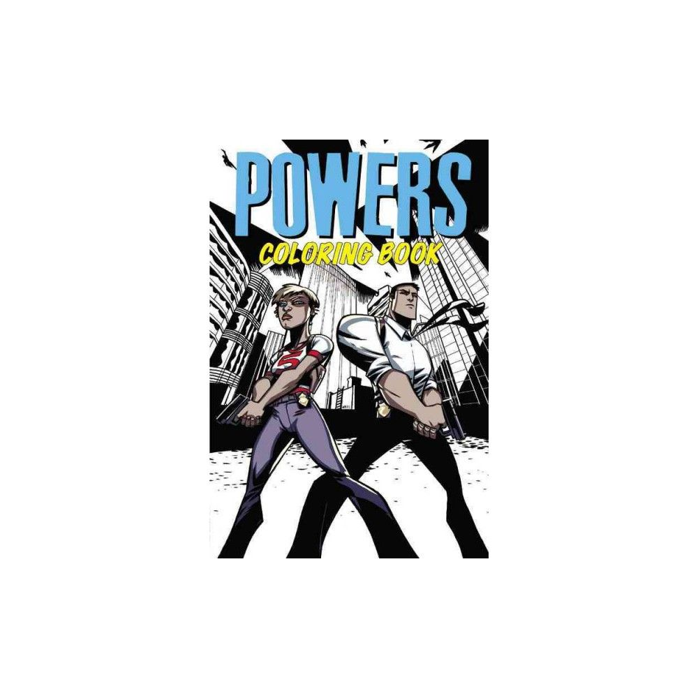 Powers Coloring Book (Paperback)
