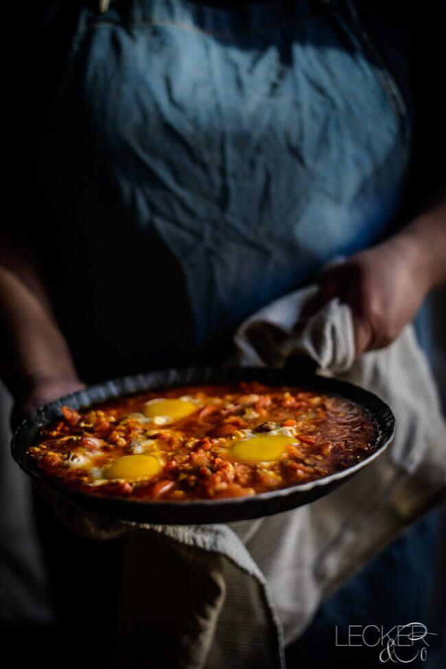 Shakshuka nach Dr. Shakshuka aus Kitchen Impossible | LECKER&Co | Foodblog aus Nürnberg