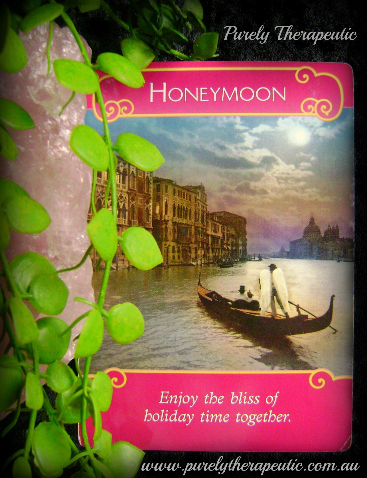 Honeymoon enjoy the bliss of holiday time together the