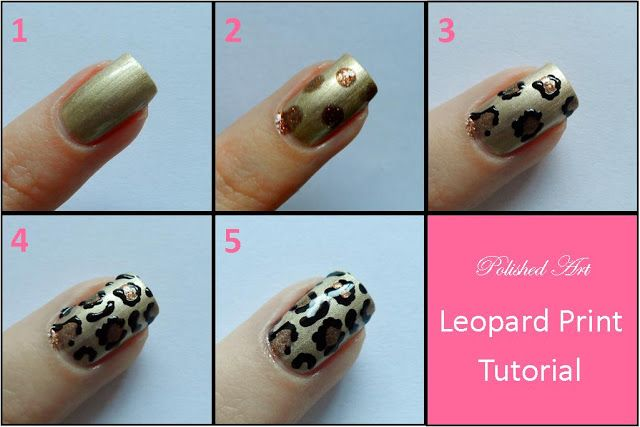 Step by Step Nail Art | you like here s the step by step picture tutorial