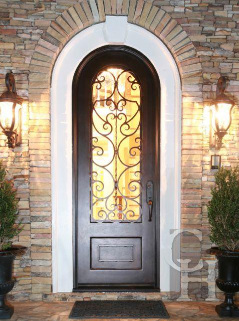 Iron Single Door Clark Hall Doors Charlotte Nc Wrought Iron Doors