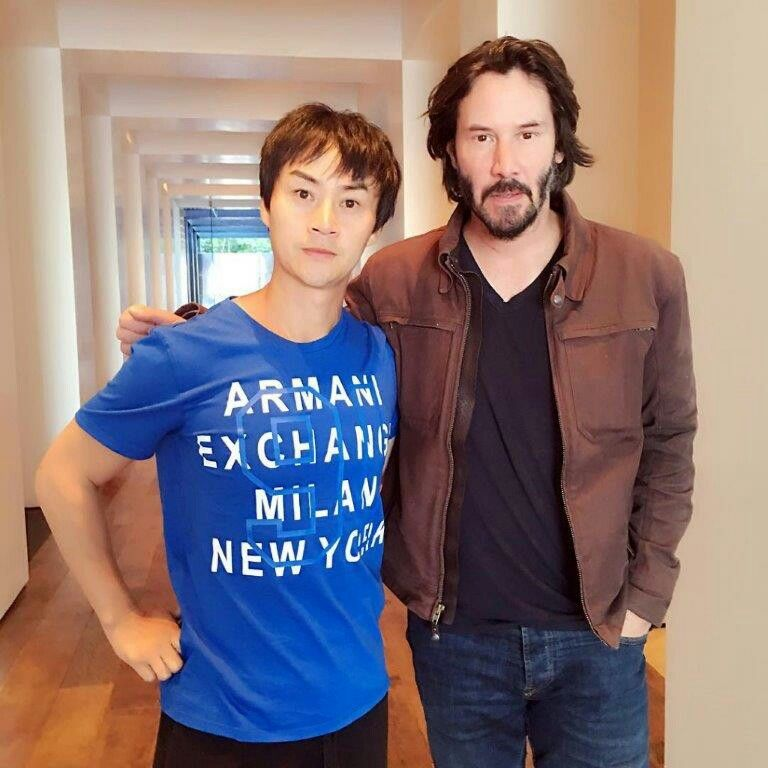 With Tiger Chen Keanu Reeves Pinterest Keanu charles reeves - sch ller k chen berlin