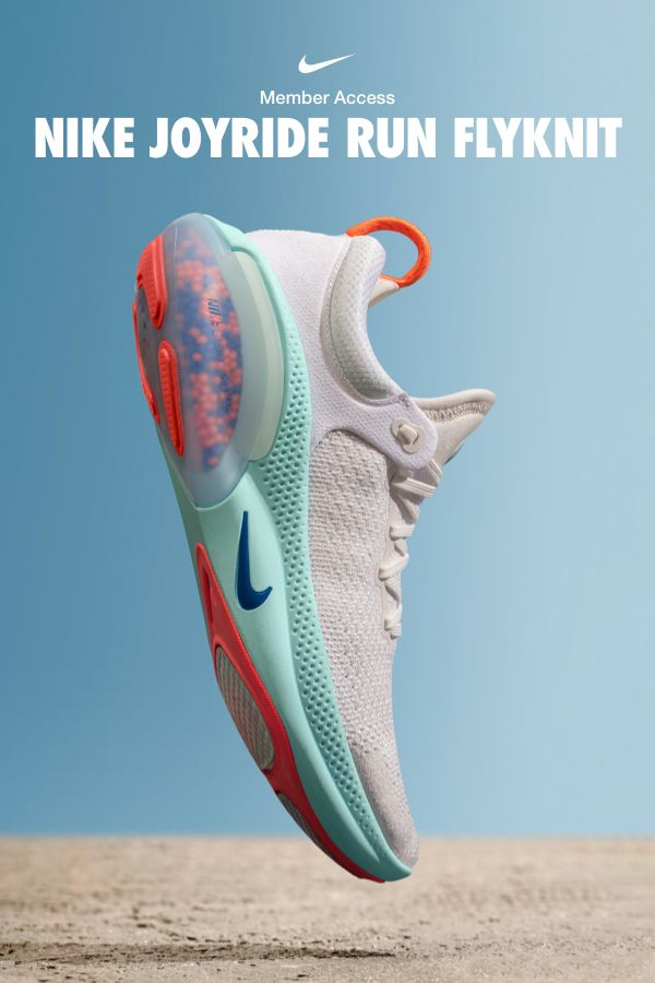 Darse prisa escalera mecánica fiabilidad  The new Nike Joyride Run Flyknit. Thousands of tiny beads working hard so  you don't have to. Get… | Running shoes for men, Womens running shoes, Heel  sandals outfit