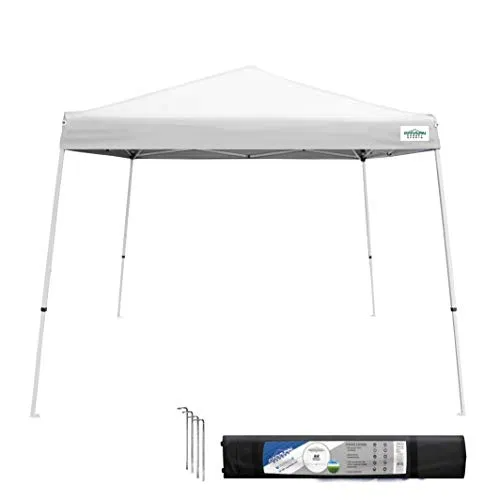 Caravan Canopy 10x10 V Series 10 X10 Base 8 X8 Top White Best Offer Backyardequip Com In 2020 Canopy Tent Camping Canopy Portable Canopy