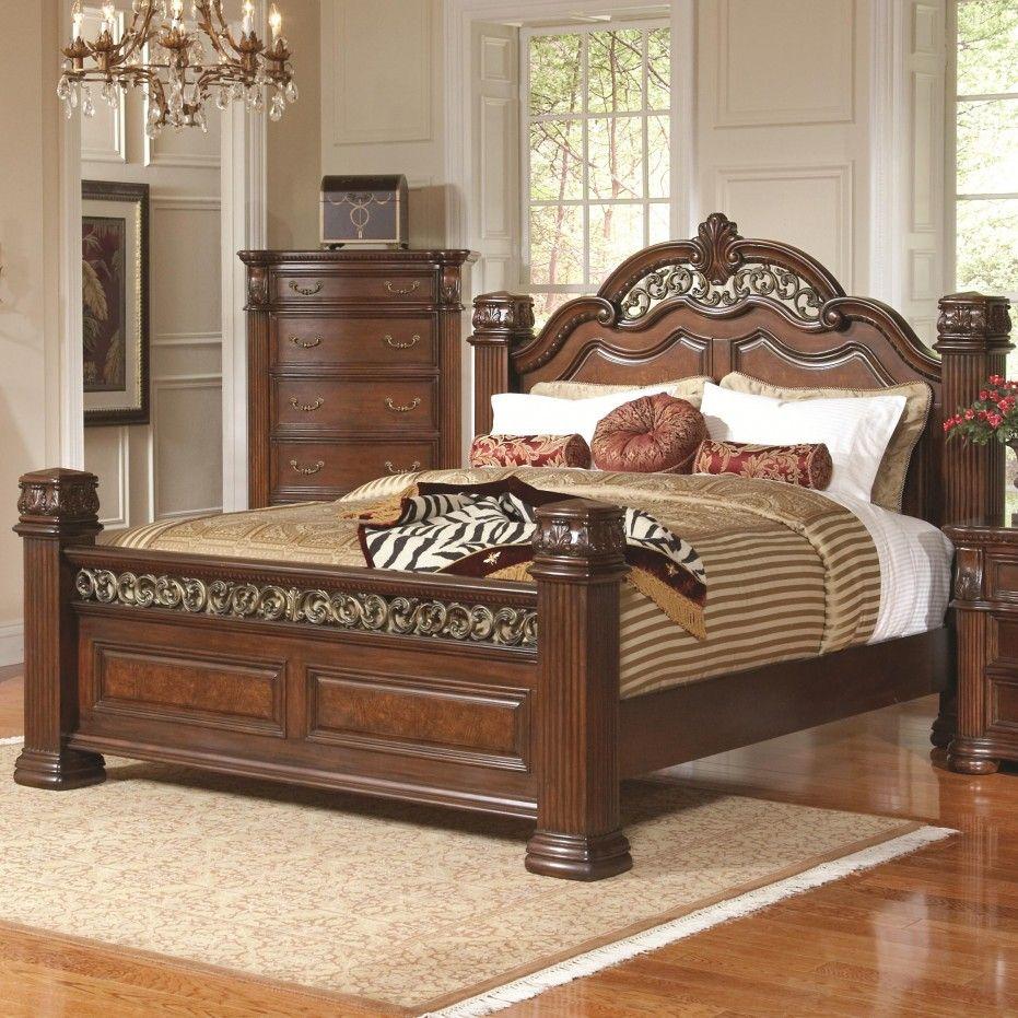Oak Bedroom Sets King Size Beds Muebles De Dormitorio De Madera