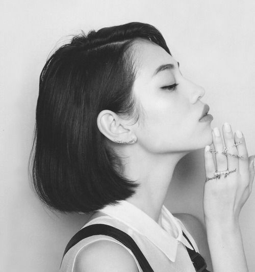 Kiko Mizuhara Hair Bob