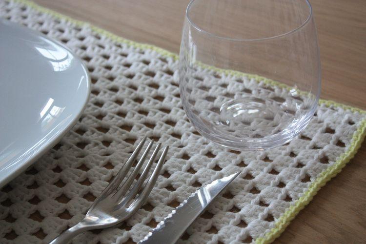 tuto du set de table rectangulaire crochet crochet crochet patterns et love crochet. Black Bedroom Furniture Sets. Home Design Ideas
