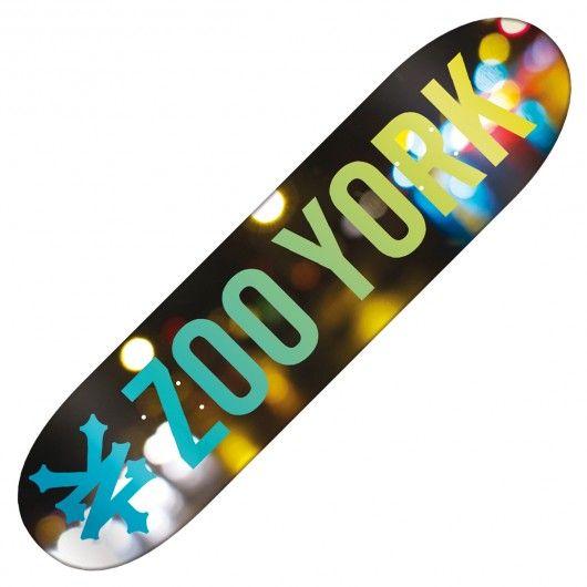 Board Zoo York Photo Incentive Light Skateboard 8 Pouces Zoo York Skateboards Zoo York Skateboard