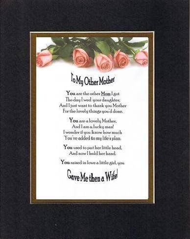 Mother In Law Valentine Poems : mother, valentine, poems, Touching, Heartfelt, Mothers, Other, Mother, (From, Son-in-, Inches, Double, Beveled…, Poems,, Mothers,, Valentine, Gifts