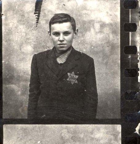 Trzebinia, Poland, Liebech Reich, a Jewish boy.