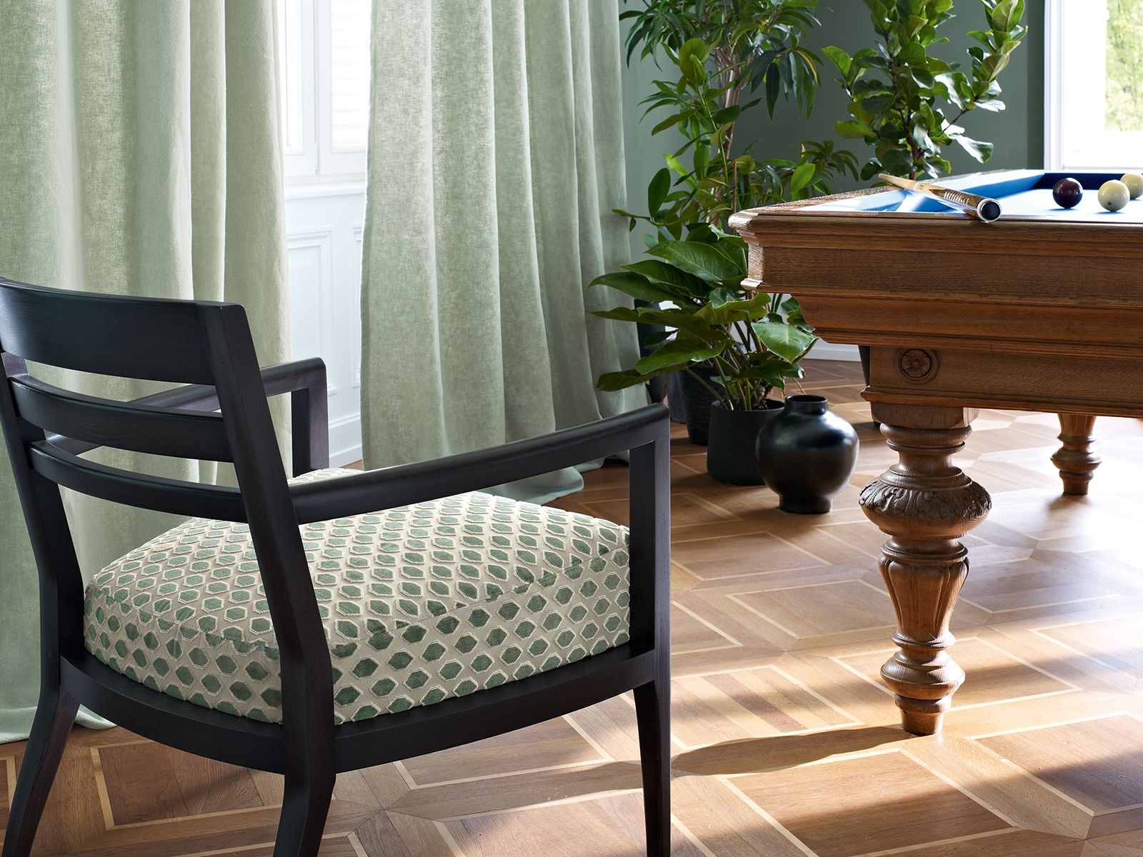 Zimmer + Rohde, living room, Wohnzimmer, Sessel, armchair ...
