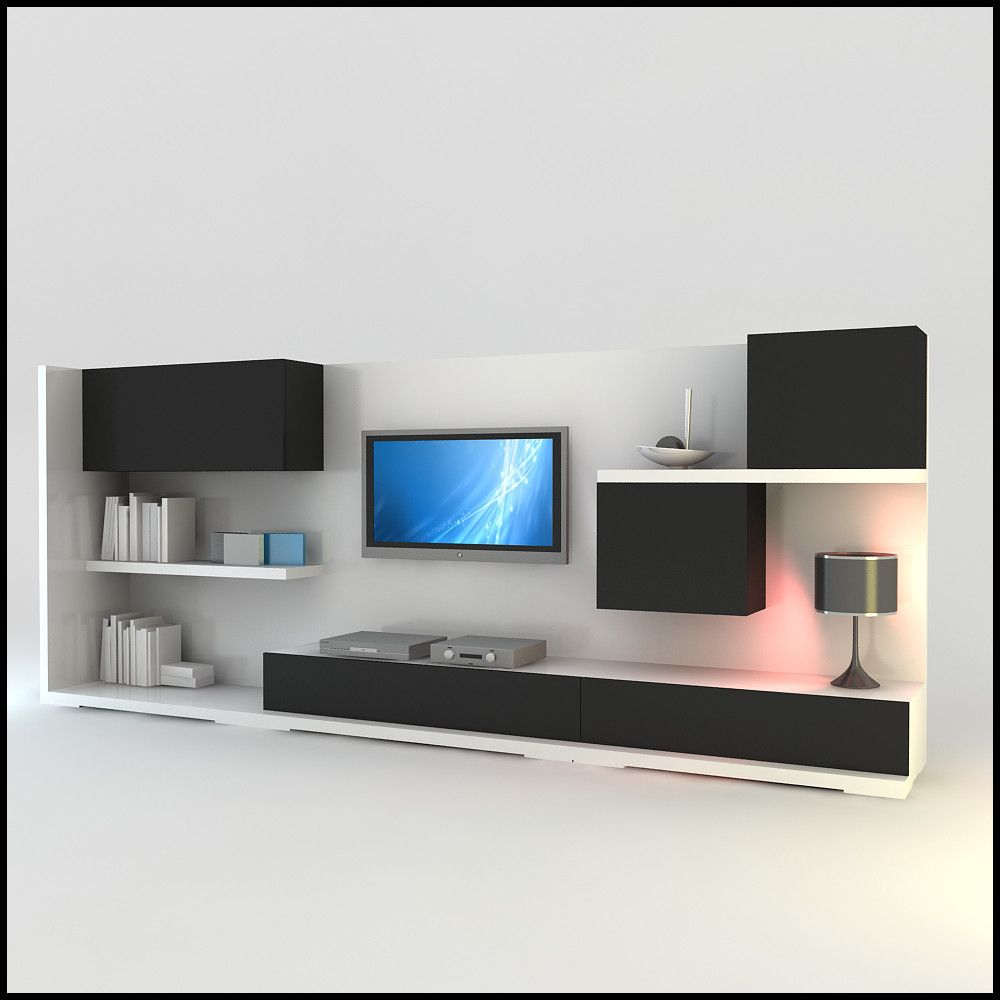 Modern Tv Wall Unit Dwg Tv Wall Unit Modern Tv Wall Modern Tv Wall Units