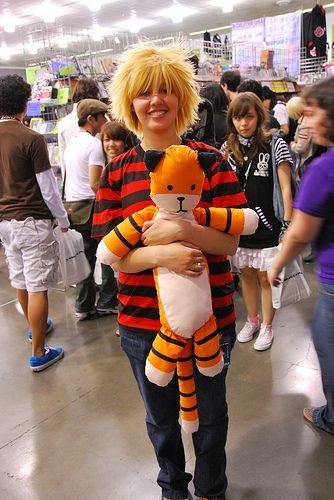 Calvin and Hobbes - Adorable!