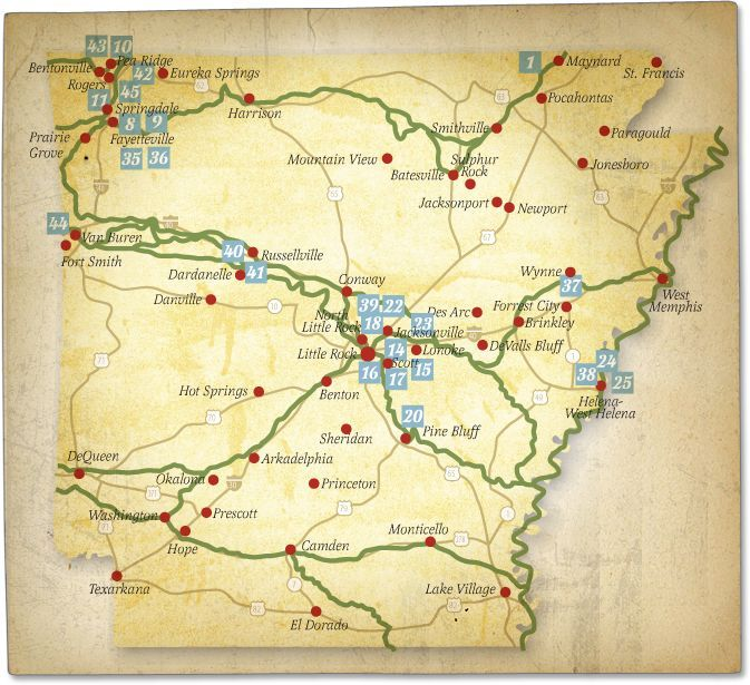 Trail of Tears places map pictures of arkansas Bing Images
