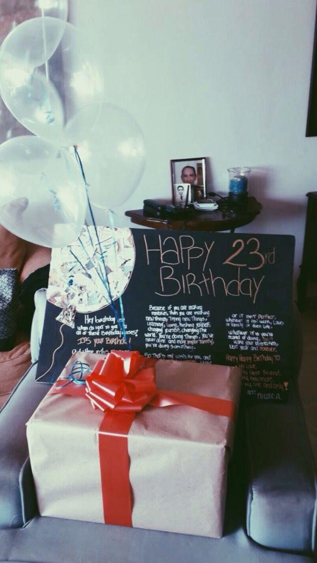 Gift Babe Boyfriend Gift Happy Birthday Regalos Balloons
