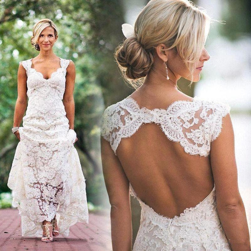 Elegant Cheap Lace Wedding Dresses   Wedding Dresses   Pinterest ...