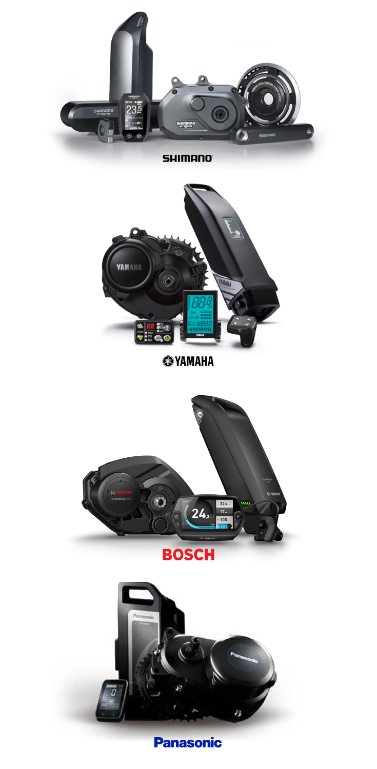 Among The Top And Popular Mid Drive Motors Are The Shimano Step Yamaha Pw Bosch Performance Line And Panasonic Centre Drive These A Ligfiets Fiets Fietsen