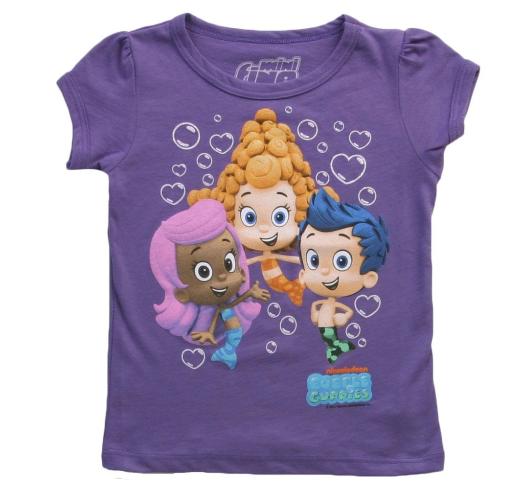 New Personalized Oona and Molly Bubble Guppies T Shirt Party Favor Birthday Gift