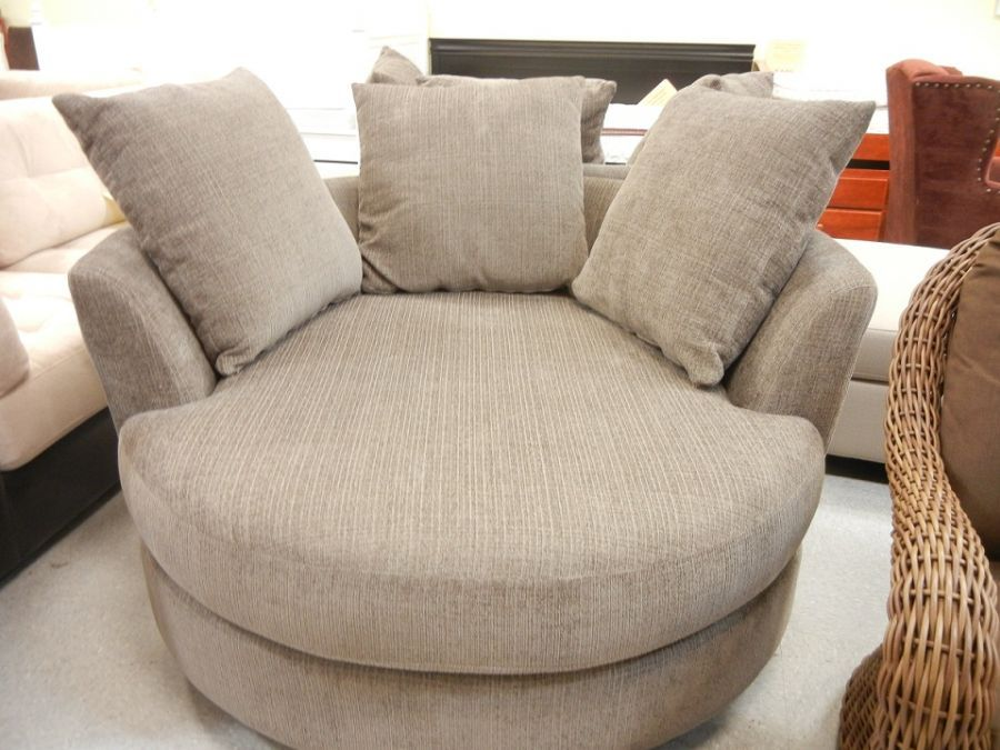 Oversized Encore Swivel Cuddler Chair | Accent Pieces we ...