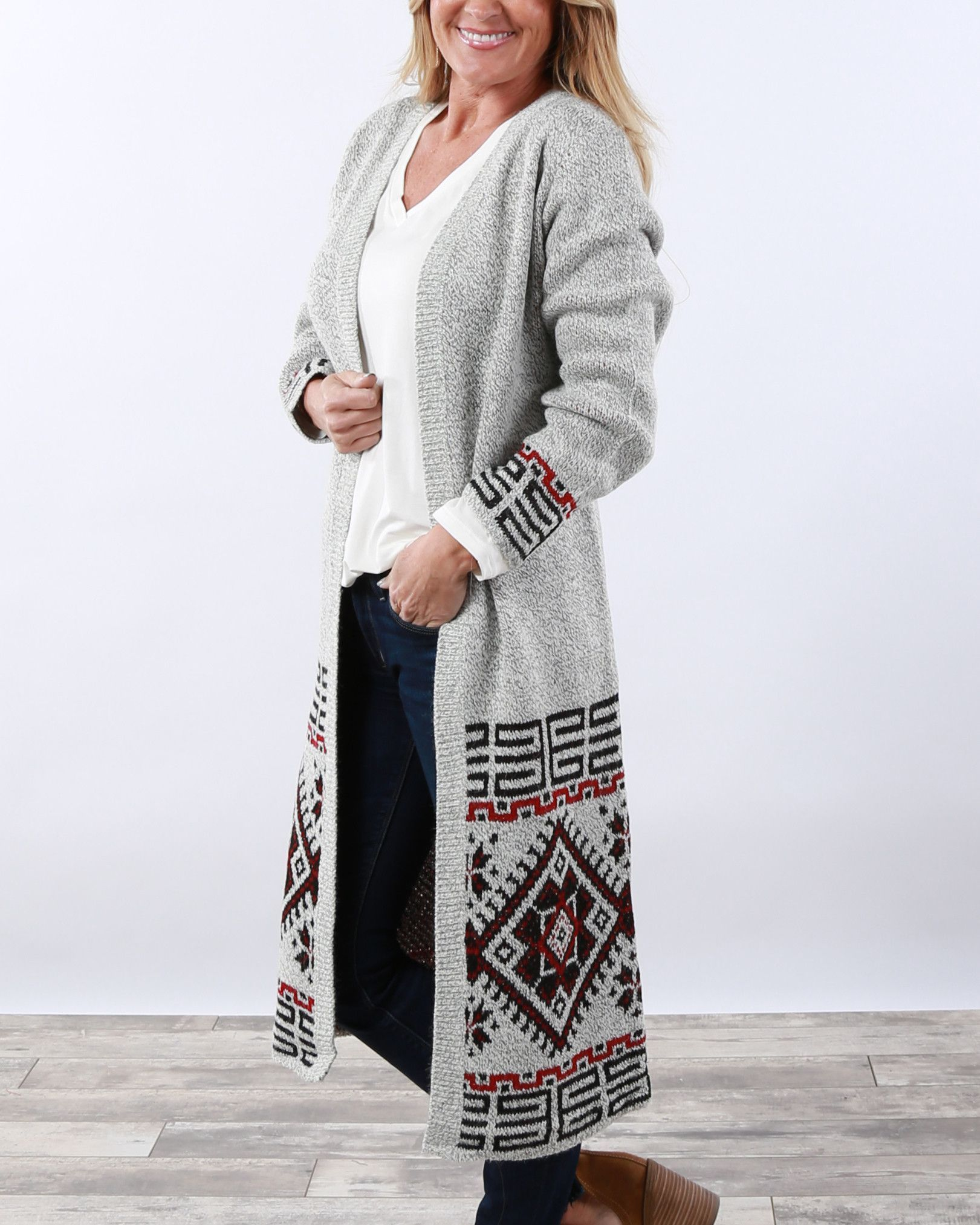 Luxe Long Duster Cardigan