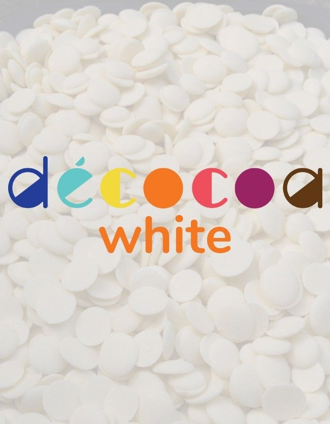 Decocoa White Gourmet Compound Chocolate for Dipping ...