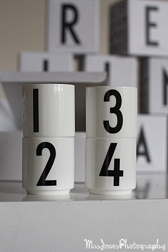Via Mrs Jones | Design Letters Espresso Mugs