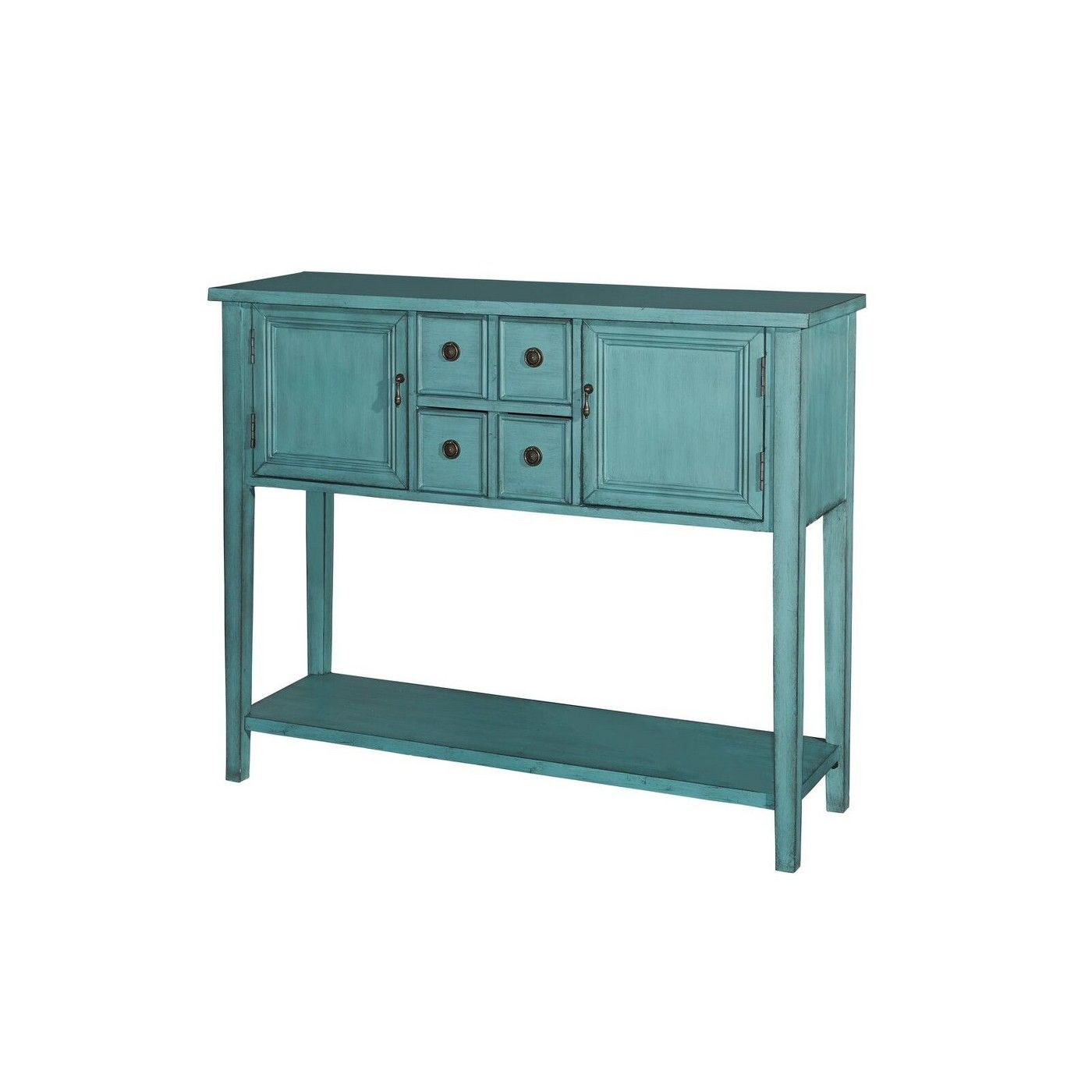 Darby Console Table Blue Powell Company Console Table Antique Console Table Console