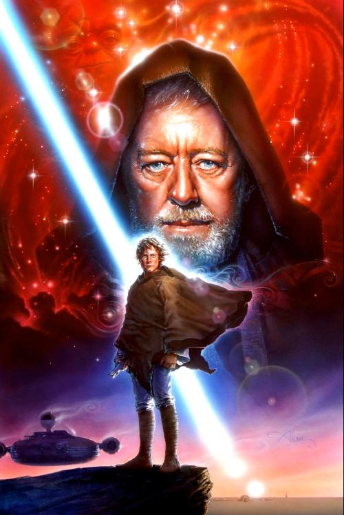 obi wan kenobi and luke skywalker relationship