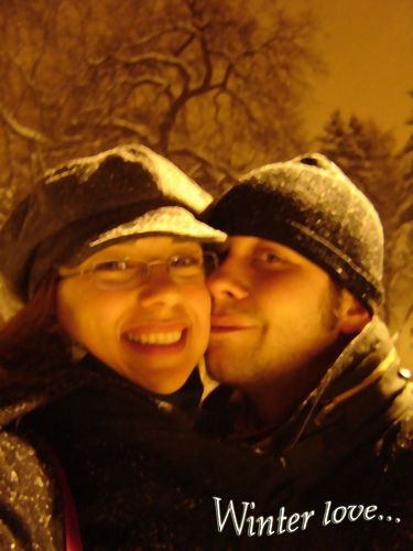 Just love the winter love moments.  See more at, http://www.photographyinstyle.com