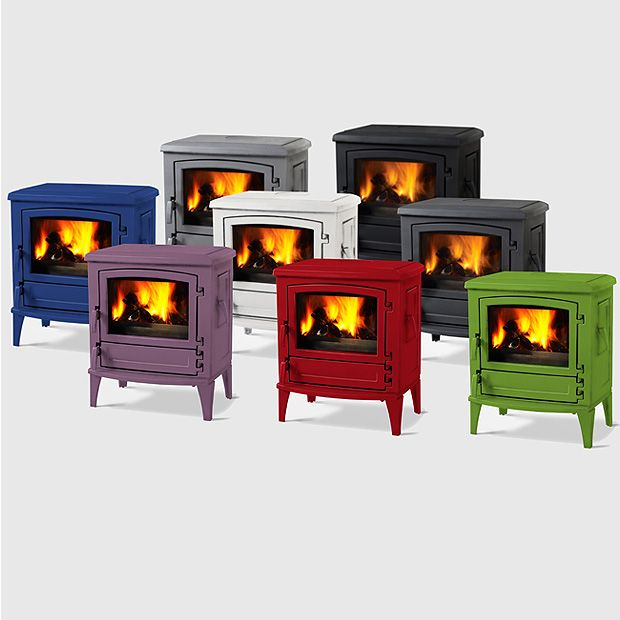 Saey Gustav Wood Stoves From Belgium The Colours Are Fantastic I M Loving The Grey And Purple Can T Find In Canada Yet Estufas De Lena Chimeneas Estufas