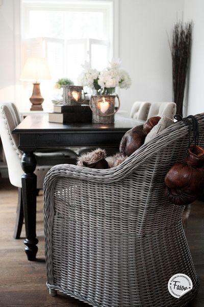 rotting,pläd,läder,rustic chic,new england,vardagsrum,romanticsweden.se