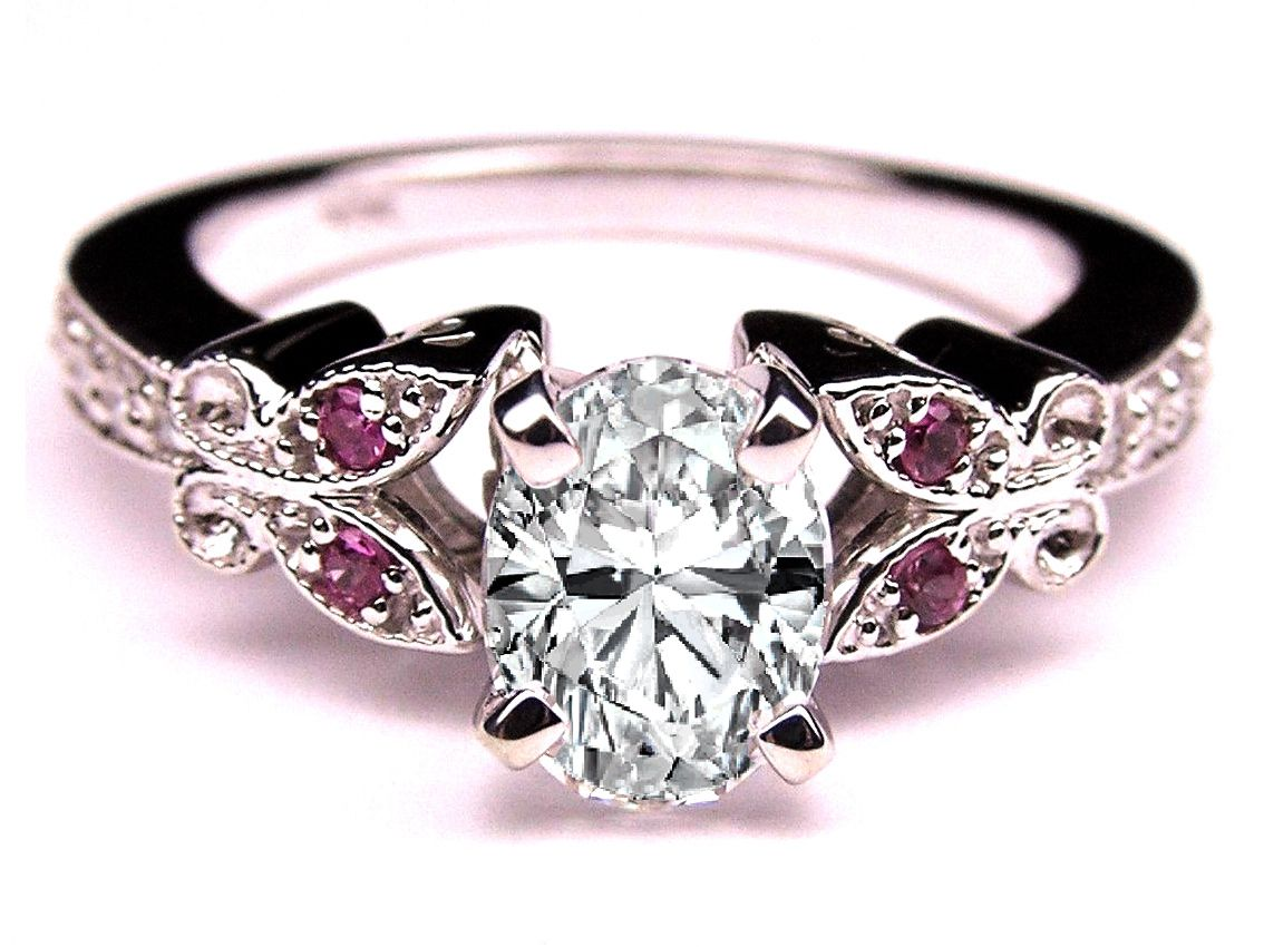 settings carving kobe mark ring butterfly hand wedding engagement thickbox diamond rings