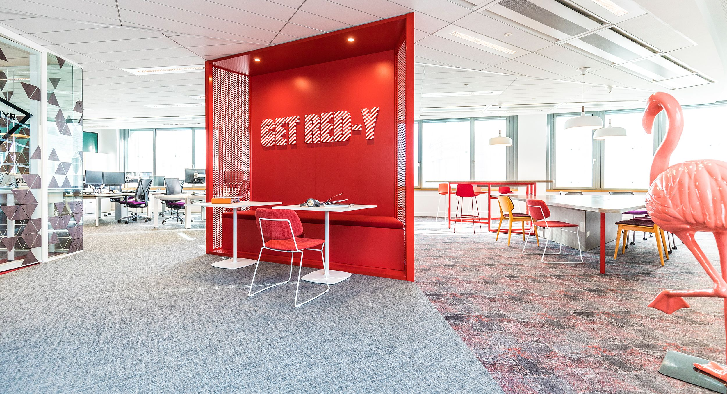 Yad Space X Bouygues Immobilier Office Design Flamingo Ready Immobilier Design