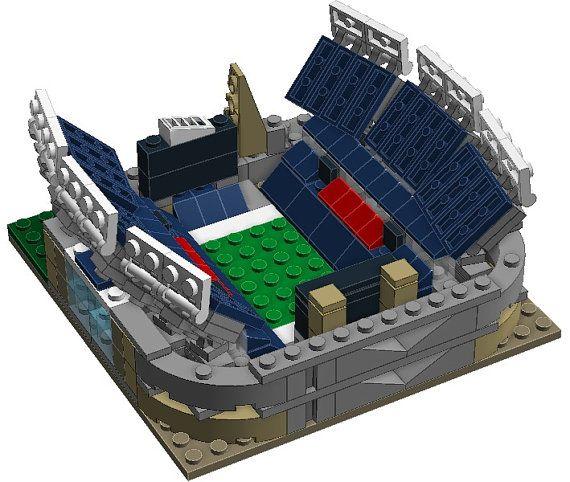 Mini New England Patriots Gillette Stadium Custom Brick Set With