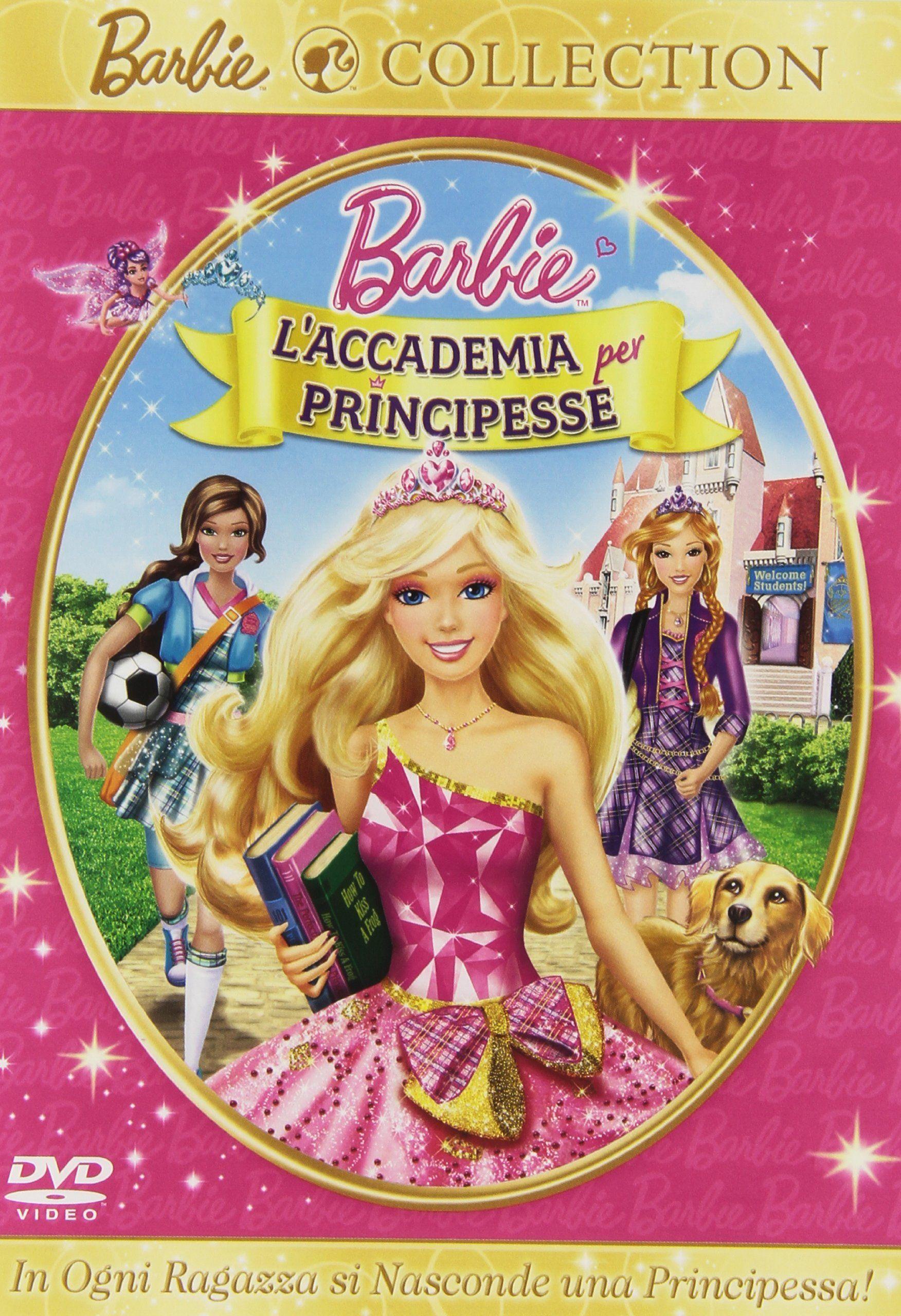Le Collezioni Di Barbie Principesse Cofanetto 3 Dvd Di